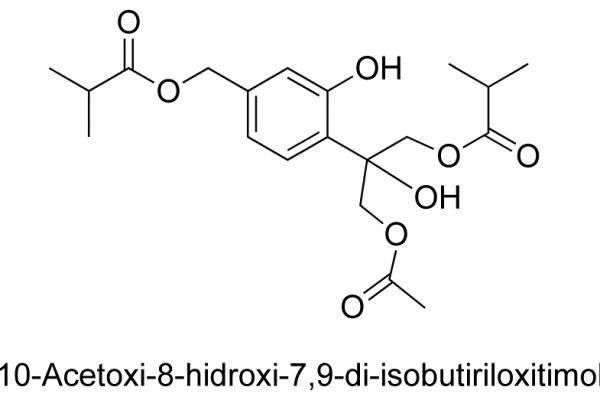 10-Acetoxi-8-hidroxi-7