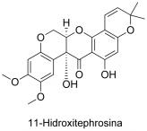 11-Hidroxitephrosina