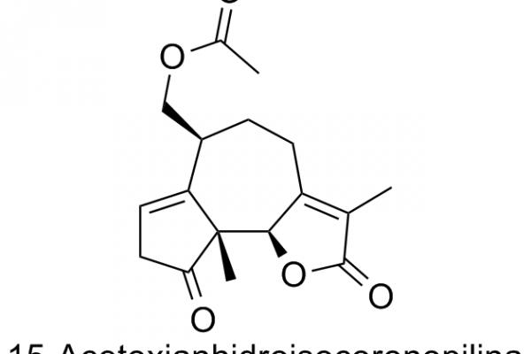 15-Acetoxianhidroisocoronopilina