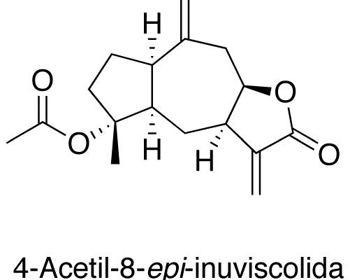 4-Acetil-8-epi-inuviscólida