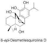6-epi-Desmetilesquirolina D