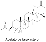 Acetato de taraxasterol
