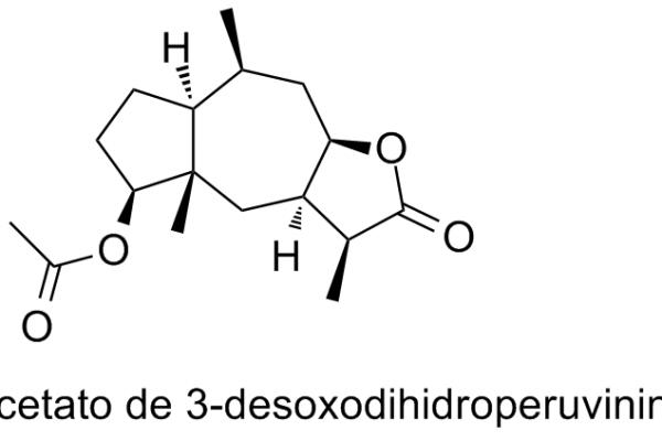 Acetato de 3-desoxodihidroperuvinina