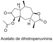 Acetato de dihidroperuvinina