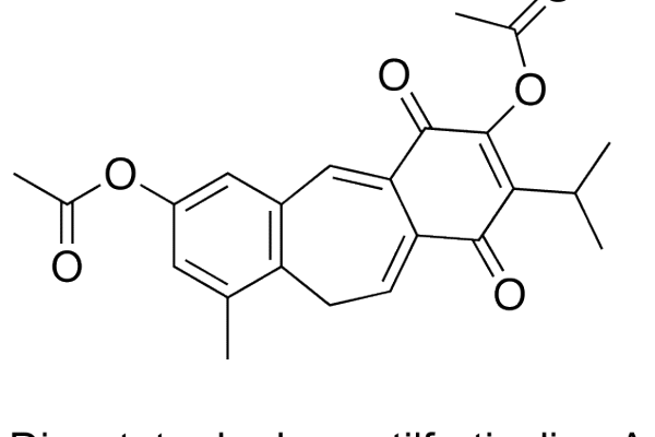 Diacetato de desmetilfruticulina A