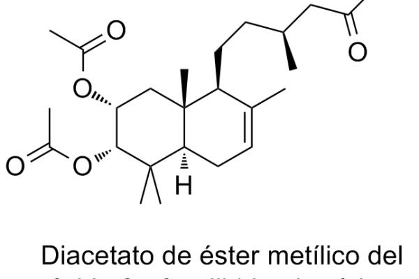 Diacetato de éster metílico del ácido 2α