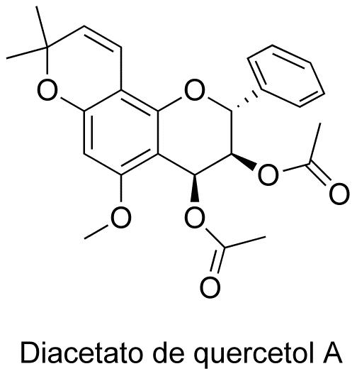 Diacetato de quercetol A