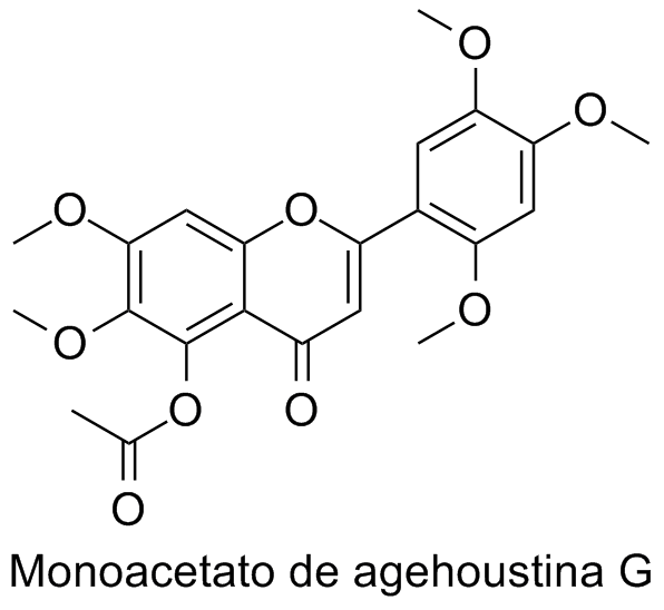 Monoacetato de agehoustina G