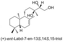 (+)-ent-Labd-7-en-13S