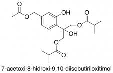 7-Acetoxi-8-hidroxi-9