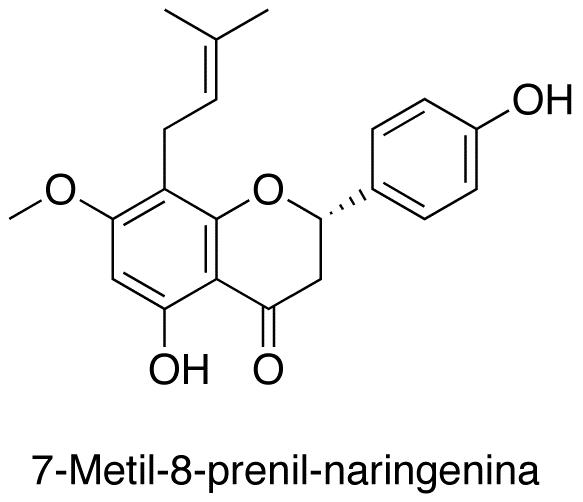 7-Metil-8-prenil-naringenina