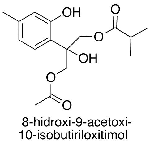 8-Hidroxi-9-acetoxi-10-isobutiriloxitimol