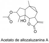 Acetato de allozaluzanina A