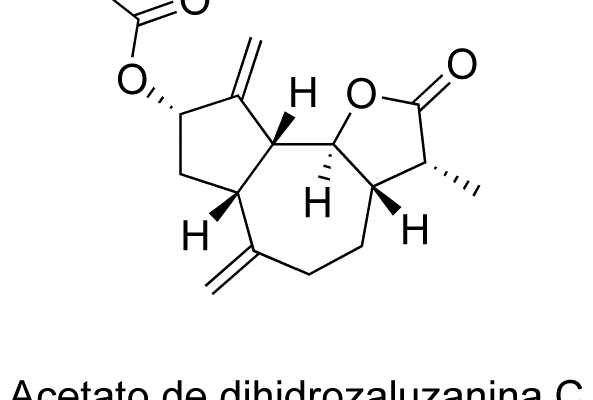 Acetato de dihidrozaluzanina C