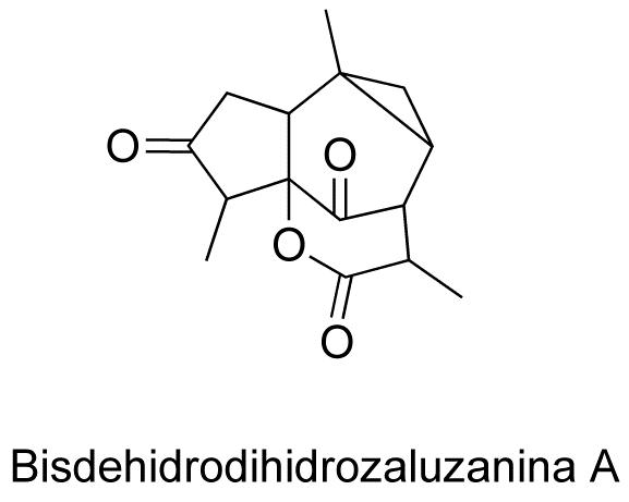 Bisdehidrodihidrozaluzanina A