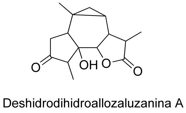 Deshidrodihidroallozaluzanina A