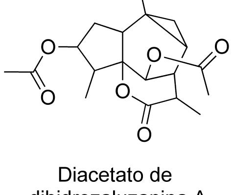 Diacetato de dihidrozaluzanina A