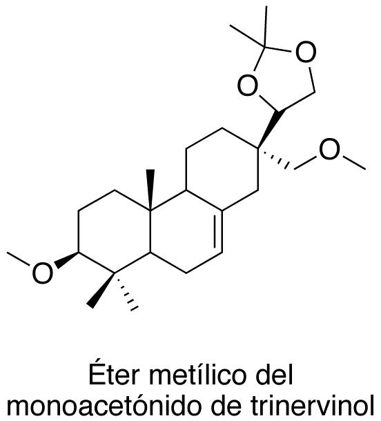Éter metílico del monoacetónido de trinervinol