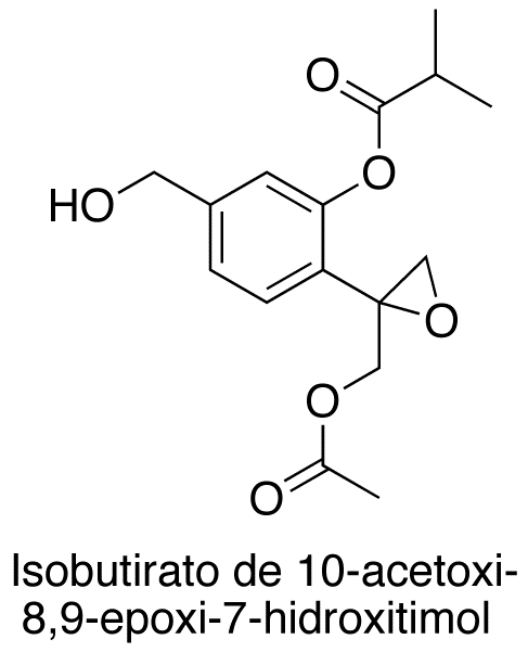 Isobutirato del 10-acetoxi-8