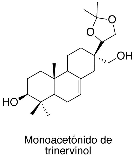 Monoacetónido de trinervinol