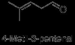 4-Metil-3-pentenal