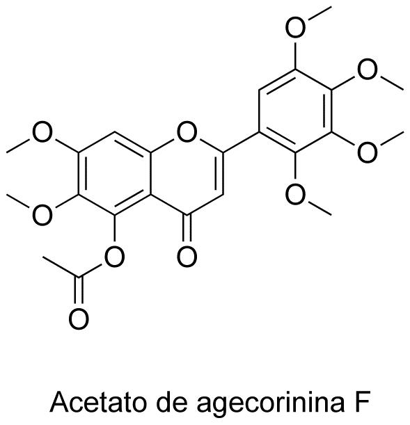 Acetato de agecorinina F