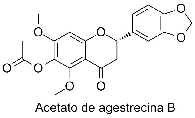 Acetato de agestrecina B