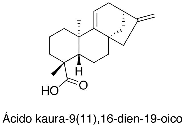 Ácido kaura-9(11)