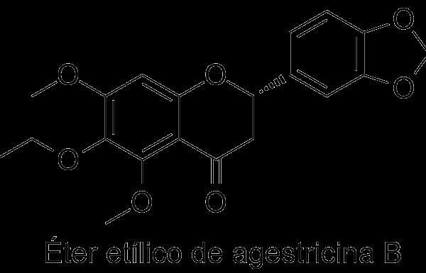Éter etílico de agestricina B