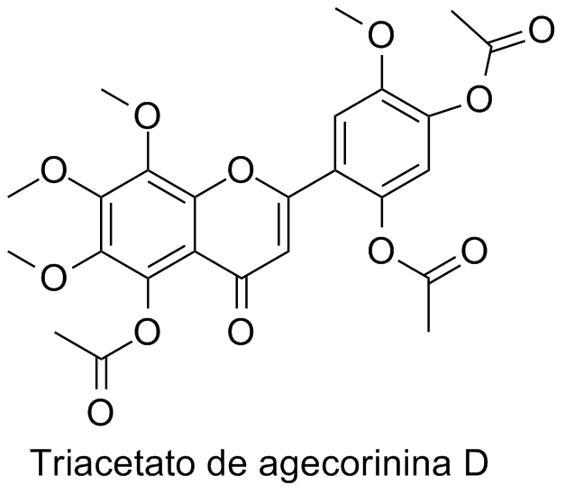 Triacetato de agecorinina D