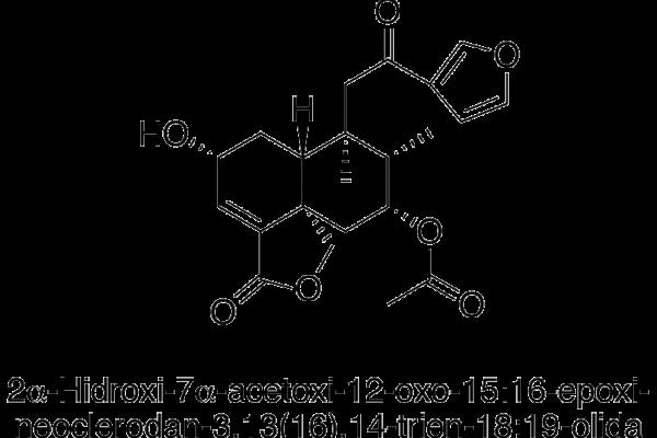 2α-Hidroxi-7α-acetoxi-12-oxo-15:16-epoxi-neocledan-3
