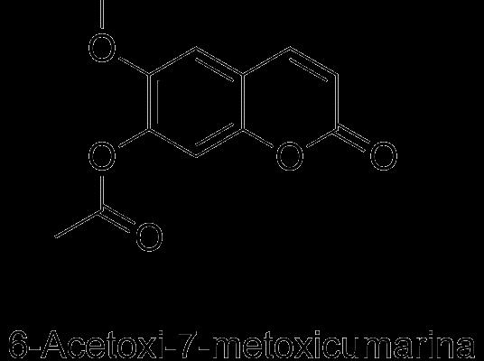 6-Acetoxi-7-metoxicumarina