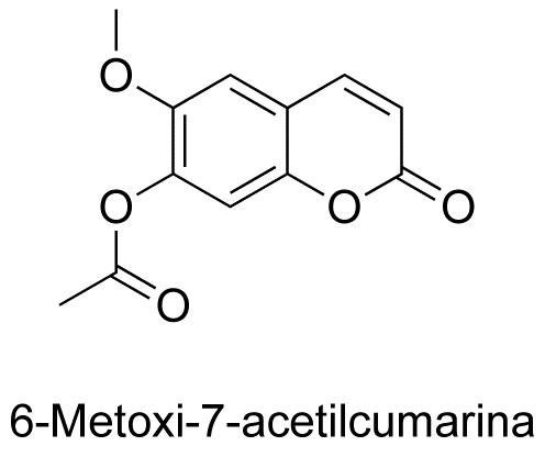 6-Metoxi-7-acetilcumarina