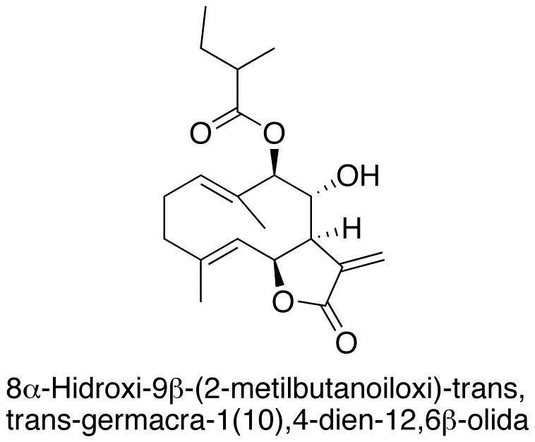 8α-Hidroxi-9β-(2-metilbutanoiloxi)-trans