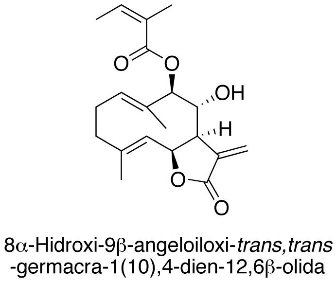 8α-Hidroxi-9β-angeloiloxi-trans