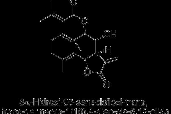 8α-Hidroxi-9β-senecioiloxi-trans