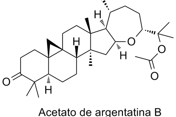 Acetato de argentatina B