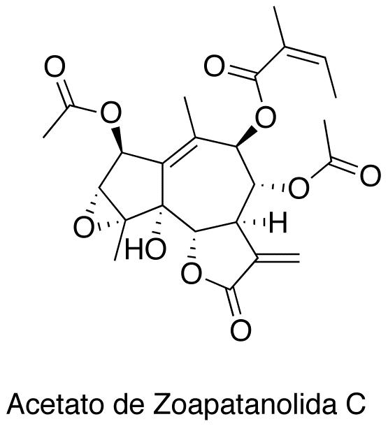 Acetato de Zoapatanolida C