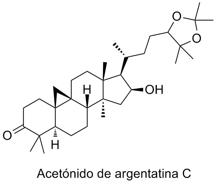 Acetónido de argentatina C