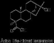 Ácido 16α-hidroxi-(-)-kauran-19-oico