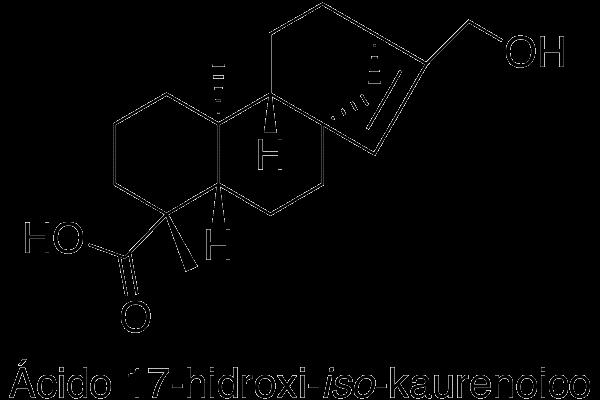 Ácido 17-hidroxi-iso-kaurenoico