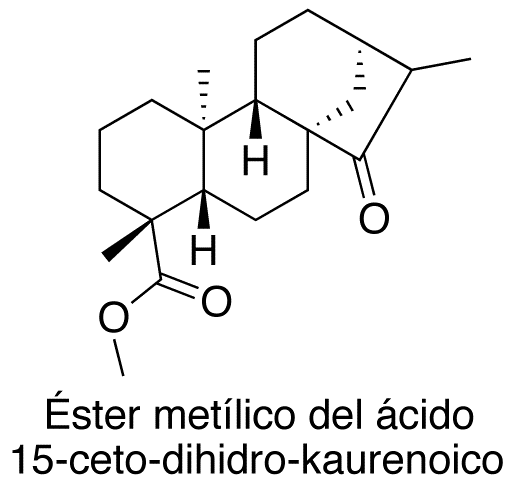 Éster metílico del ácido 15-ceto-dihidro-kaurenoico