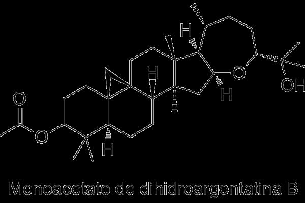 Monoacetato de dihidroargentatina B
