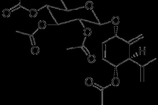 Pentaacetato de 1β-Glucosil-piquerol A