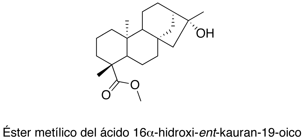 Éster metílico del  ácido 16α-hidroxi-ent-kauran-19-oico