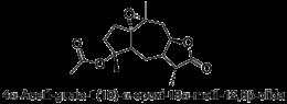 4α-Acetil-guaia-1(10)-α-epoxi-13α-metil-12