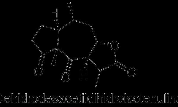 Deshidrodesacetildihidroisotenulina