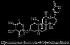 12β-Hidroxicoroglaucigenin-3-O-β-D-allometilósido